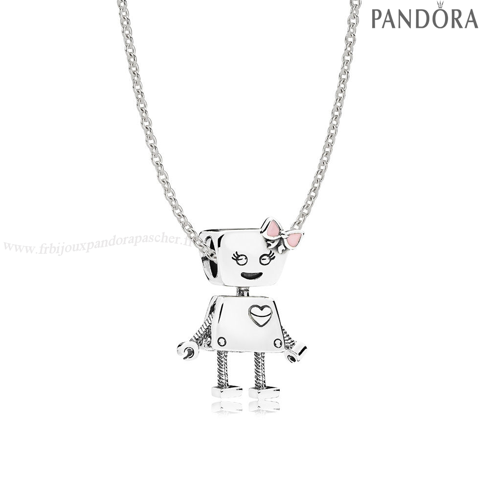 Pandora Promotion Sterling Argent Bella Bot Collier Ensemble En Ligne