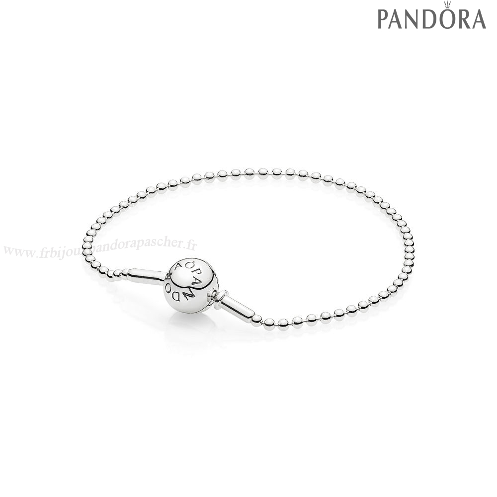 Pandora Promotion Essence Collection Beaded Bracelet En Sterling Argent En Ligne