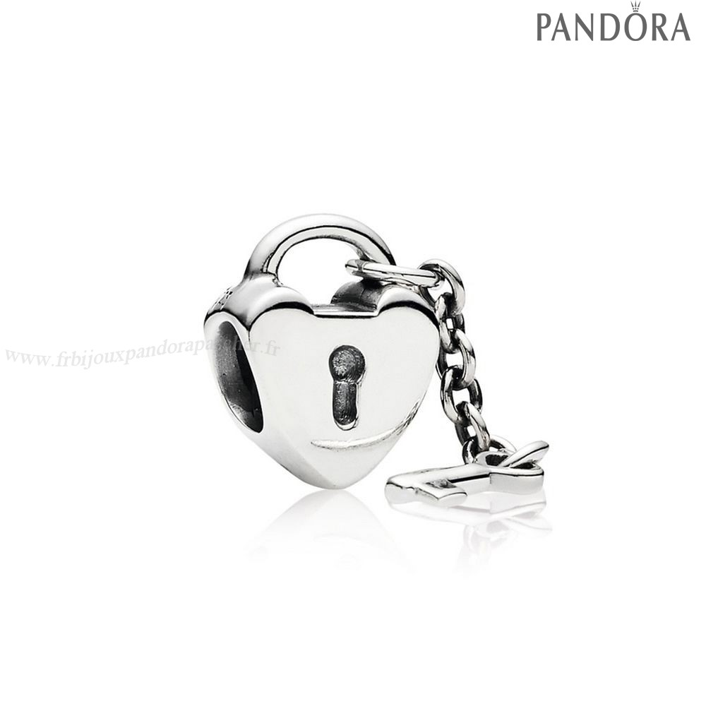 Pandora Promotion Charms Key To Ma Coeur En Ligne