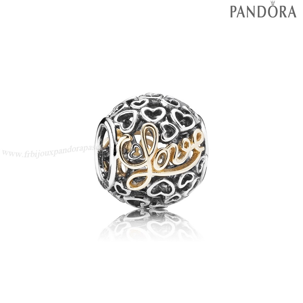 Pandora Promotion Charms Message Of Amour En Ligne