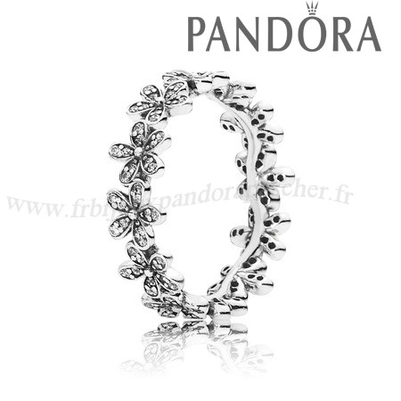 Pandora Promotion Dazzling Daisy Meadow Bague Empilable Clear Cz En Ligne