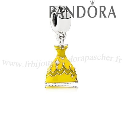 Pandora Promotion Disney Belle Robe Dangle Charm Mixed Email En Ligne