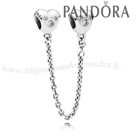 Pandora Promotion Disney Chaines De Securite Disney Coeur De Mickey Chaine De Securite Clear Cz En Ligne