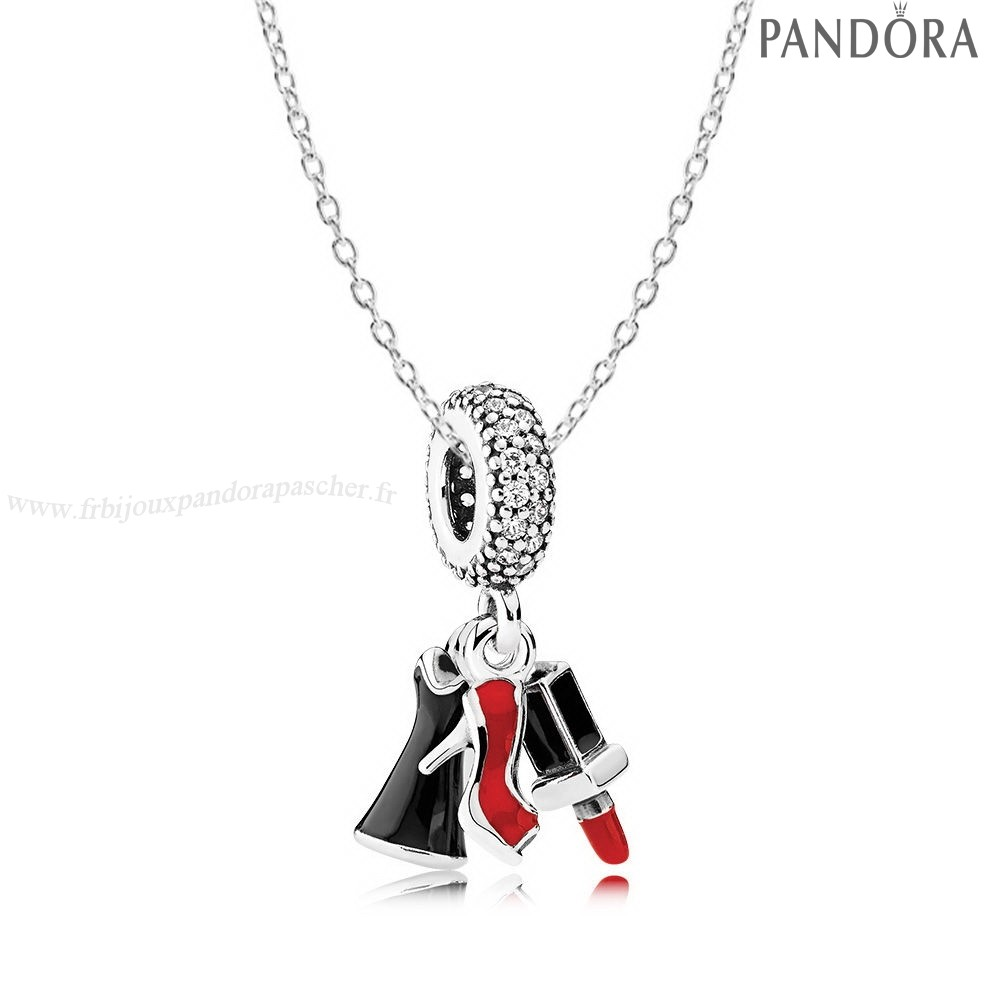 Pandora Promotion Filles Night Out Collier En Ligne
