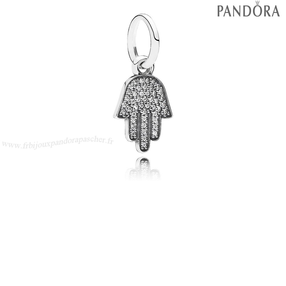Pandora Promotion Pandora Alphabet Symboles Charms Symbole De Protection Dangle Charm Clear Cz En Ligne