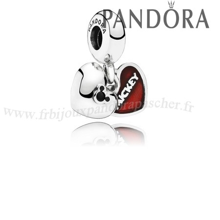 Pandora Promotion Pandora Disney Breloques Mickey Breloque Minnie Dangle Red Enamel En Ligne