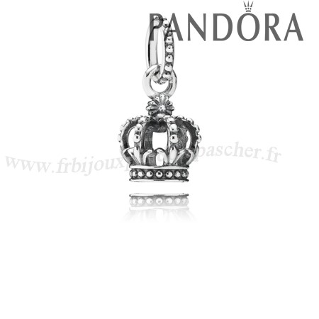 Pandora Promotion Pandora Fairy Tale Charms Noble Splendor Crown Dangle Charm En Ligne