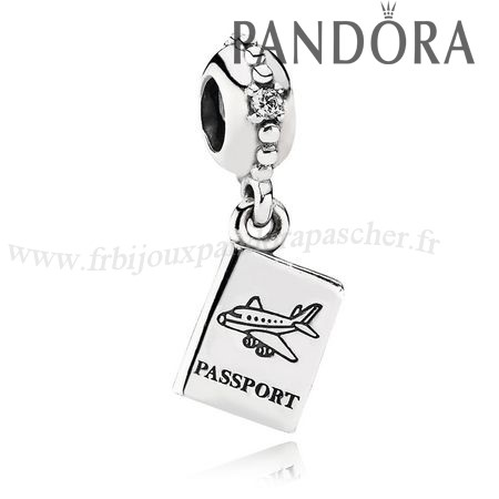 Pandora Promotion Pandora Vacances Charms De Voyage Aventure Awaits Dangle Charm Clear Cz En Ligne