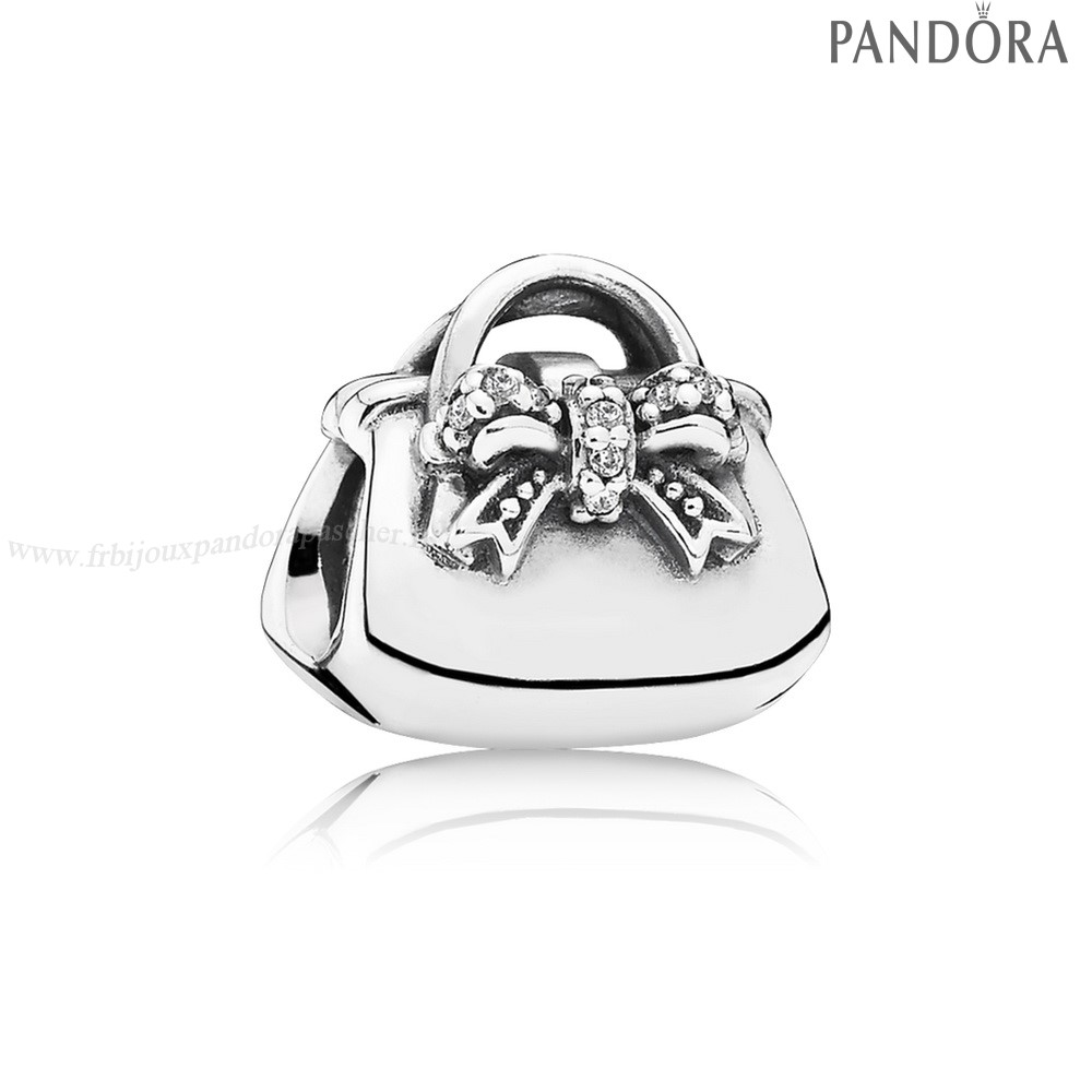Pandora Promotion Passions Charms Chic Charmant Sac A Main Clear Cz En Ligne